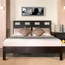 platform espresso bed ms nile 7 platform beds
