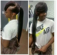 genie pony with u201d pinterest bangs ponytail and