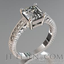 classic designs rings images Pave diamond enagement rings antique style engagement ring round jpg
