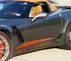 corvette stingray gold c7 corvette stripes archives vettestripes com