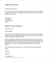 collection of solutions recommendation letter for bank employee