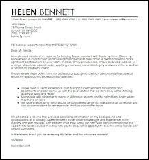 construction superintendent cover letter construction