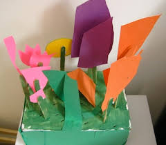 paper craft flower garden things to make and do crafts and