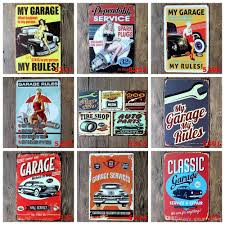 vintage cocktail posters 20 30cm beer coffee tavern vintage metal sign tin poster pub bar
