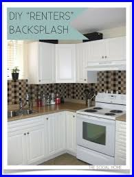 diy kitchen backsplash ideas fascinating uncategorized cheap diy kitchen ideas in design picture
