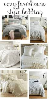 cozy farmhouse style bedding bedroom retreat farmhouse style