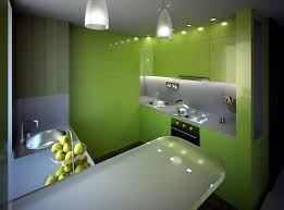Kitchen Neutral Paint Colors - kitchen stunning high gloss kitchen with warm green accents also