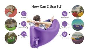 embrace inflatable lounger or air hammock u2013 ideal camping