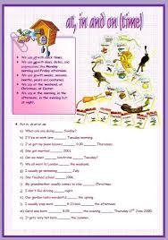of time elementary worksheet
