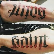 ambigram chhory
