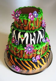 178 best cakes jungle safari images on pinterest cakes jungle