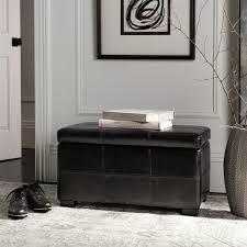 black storage bench bench decoration