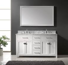 Dual Vanity Sink White Ceramic Round Sink Double Sink Bathroom Vanity Ideas