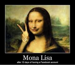 mona lisa profile pic meme slapcaption com on we heart it