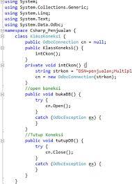 cara membuat koneksi database mysql menggunakan odbc tutorial csharp koneksi database mysql odbc sector code