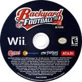 Wii Backyard Football by Sbfe70 Backyard Football U002710