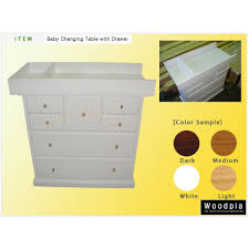 Changing Table Baby by Woodpia Baby Change Table W
