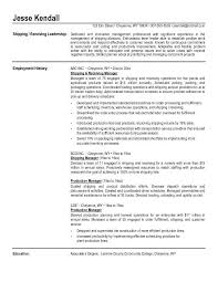 Sample Resume For Production Manager by Supervisor Resume Templates A One Page Supervisors Resume Example