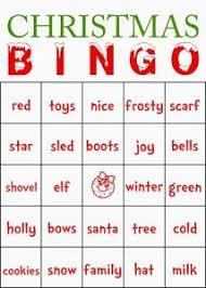 christmas bingo printable game christmas bingo free printable