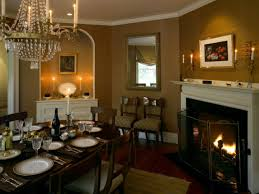 Dining Room With Fireplace by 40 Stupendous Dining Room Decorating Ideas Traditional Dining Room