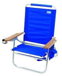Backpack Cooler Beach Chair Amazon Com Rio Brands Beach Bum Beach Chair Blue Sports