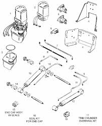 mercruiser tilt trim wiring diagram dolgular com
