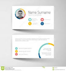 business card template word free designs 3