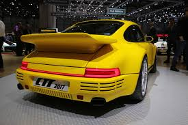 porsche ruf ctr3 how alois ruf and his company built an all carbon tribute to the