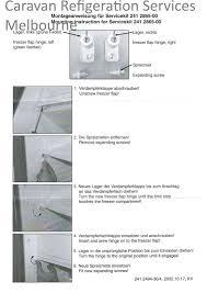freezer door spring housings 3 way rm2301 rm2350 dometic complete