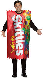 candy costumes mens skittles candy costume mr costumes
