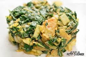 cuisiner blettes marmiton recette de poêlée de blettes et pommes de terre à l ail et paprika