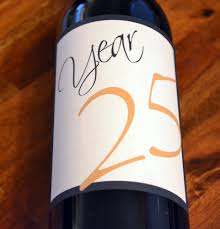 anniversary wine bottles anniversary wine labels wedding table numbers custom