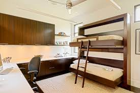 Wall Bunk Bed Downtown Escape Contemporary Home Office Detroit By Caden