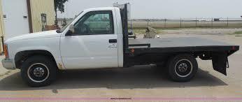 1988 gmc sierra 3500 sle flatbed truck item h3124 sold