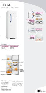refrigerador geladeira electrolux cycle defrost 2 portas 260
