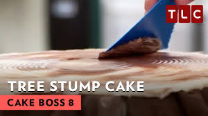 How To Build A Stump by How To Make A Tree Stump Wedding Cake Cake Boss S8e2 Youtube