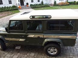 90s land rover for sale 1989 land rover defender 110 second daily classics
