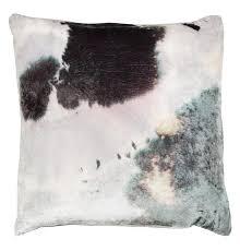 aviva stanoff velvet pillow purple stain