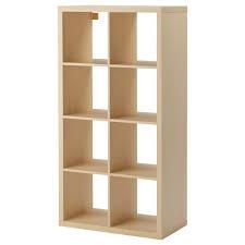 Narrow Cube Bookcase by Kallax Shelf Unit Black Brown Ikea