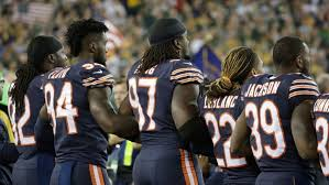 Chicago Bears How Green Bay Packers Chicago Bears Handled National Anthem The