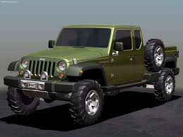 new jeep truck concept jeep gladiator concept 2005