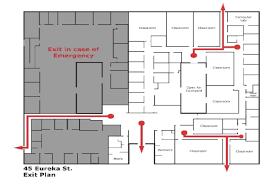 San Jose City College Map by Emergency Information U2013 Pacific Oaks College