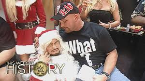 mr mcmahon u0026 ric flair host raw christmas parties this week in
