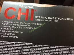 black friday chi straightener chi original 1 inch ceramic flat iron u2013 costcochaser