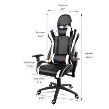 Entertainment Chair Gaming Chair Back Support Fantastic Ergonomic Lumbar Office