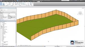 revit adaptive component railing and fence t a l k
