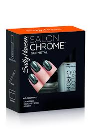 sally hansen is launching an at home chrome mani kit that u0027s pure magic