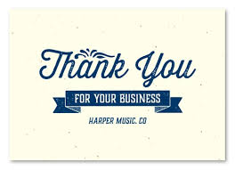 business thank you cards business thank you cards on seeded paper house blend by green