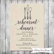wedding rehearsal invitations wedding rehearsal invite dinner invitation modern kraft