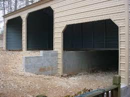 split level garage stonebridge custom metal structures metal buildings carports shop